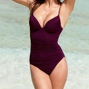 Black Orchid Push-up Shaping One-Piece